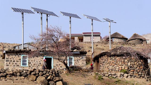 La energía solar nos trae progresos