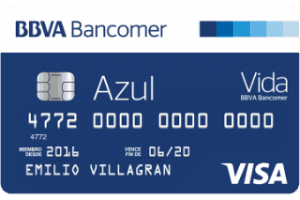 tarjeta azul de bancomer