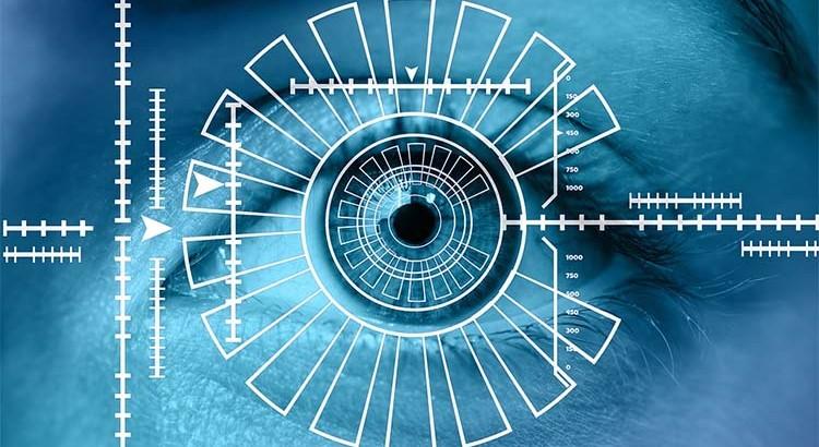 biometría escaneo de iris